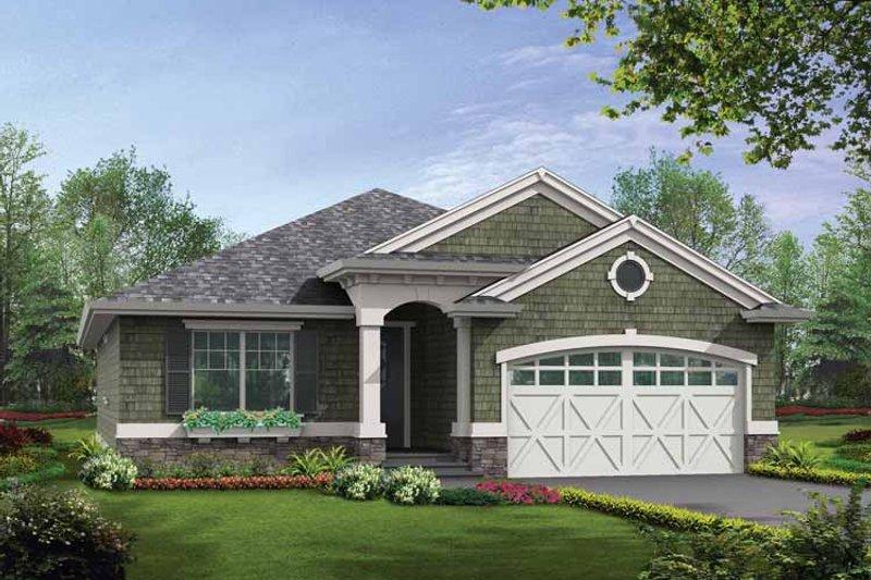 Craftsman Exterior - Front Elevation Plan #132-530 - Houseplans.com