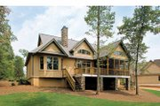 Craftsman Style House Plan - 4 Beds 3.5 Baths 3132 Sq/Ft Plan #929-407 Exterior - Rear Elevation