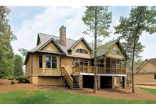 House Plan Design - Craftsman Exterior - Rear Elevation Plan #929-407