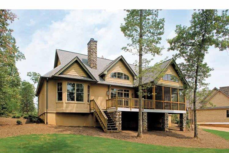 Craftsman Exterior - Rear Elevation Plan #929-407 - Houseplans.com
