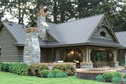 Bungalow Style House Plan - 3 Beds 2.5 Baths 2234 Sq/Ft Plan #120-245 Exterior - Rear Elevation