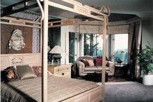 Mediterranean Interior - Master Bedroom Plan #47-875
