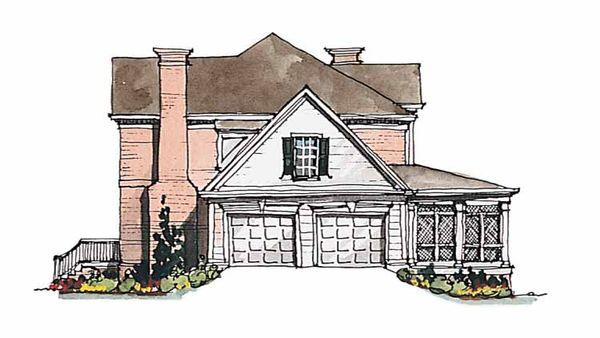 Classical Floor Plan - Other Floor Plan Plan #429-183