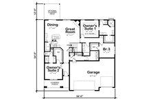 Farmhouse Floor Plan - Main Floor Plan Plan #20-2351