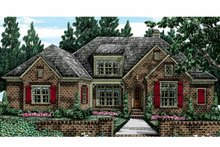 House Plan Design - European Exterior - Front Elevation Plan #927-400