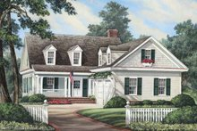 Traditional Exterior - Front Elevation Plan #137-263