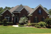 Ranch Style House Plan - 4 Beds 2 Baths 1945 Sq/Ft Plan #927-44 Exterior - Front Elevation