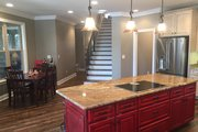 European Style House Plan - 3 Beds 3 Baths 3267 Sq/Ft Plan #63-408 Interior - Kitchen