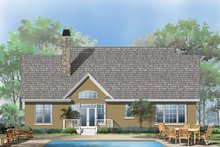 Craftsman Exterior - Rear Elevation Plan #929-428
