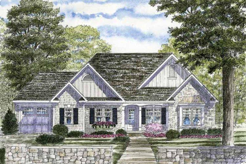 Ranch Exterior - Front Elevation Plan #316-249 - Houseplans.com