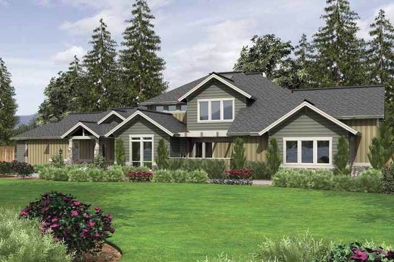 Country Exterior - Front Elevation Plan #48-855 - Houseplans.com