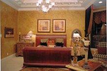 House Plan Design - Mediterranean Interior - Master Bedroom Plan #417-527