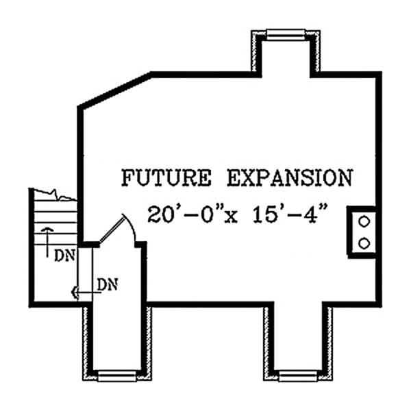 Country Floor Plan - Other Floor Plan Plan #314-284