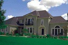 Architectural House Design - European Exterior - Front Elevation Plan #51-929