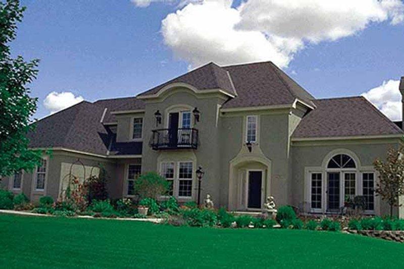 Dream House Plan - European Exterior - Front Elevation Plan #51-929