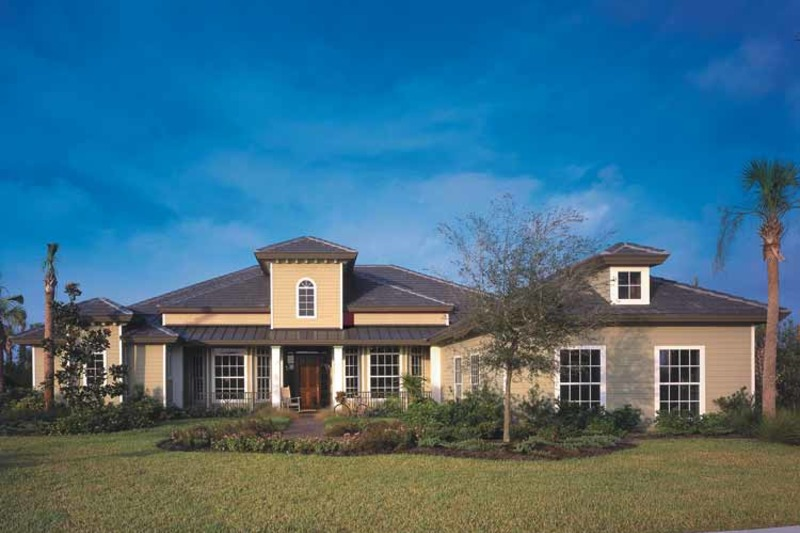 Country Exterior - Front Elevation Plan #930-96 - Houseplans.com