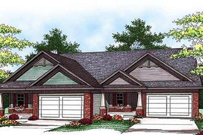Traditional Exterior - Front Elevation Plan #70-941
