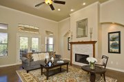 European Style House Plan - 3 Beds 3.5 Baths 3289 Sq/Ft Plan #80-192 Interior - Family Room
