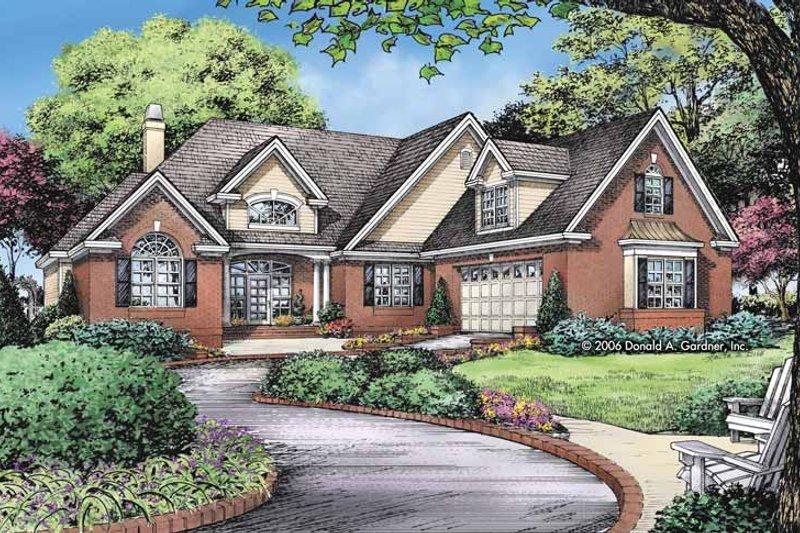 Home Plan - Craftsman Exterior - Front Elevation Plan #929-826