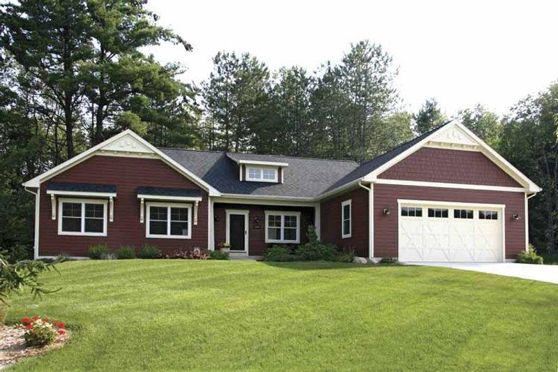 Craftsman Exterior - Front Elevation Plan #928-151 - Houseplans.com