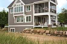 Architectural House Design - Contemporary Exterior - Other Elevation Plan #928-274