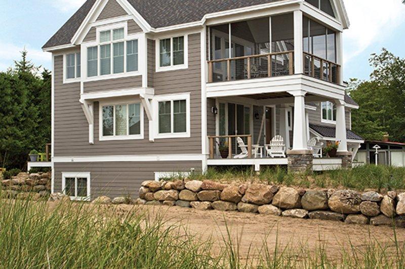 Contemporary Exterior - Other Elevation Plan #928-274 - Houseplans.com