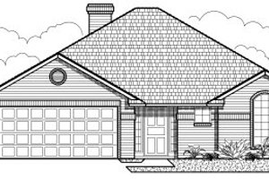 Traditional Exterior - Other Elevation Plan #65-230