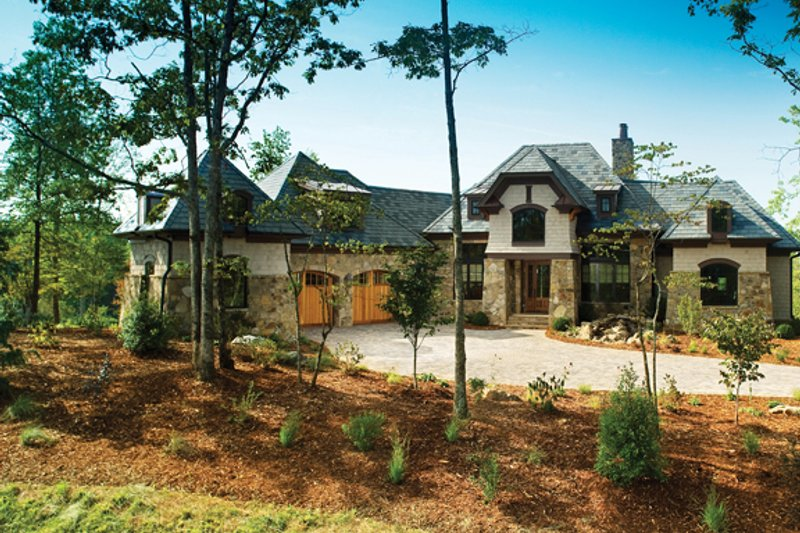 Dream House Plan - European Exterior - Front Elevation Plan #929-892
