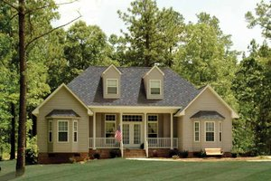 Country Exterior - Front Elevation Plan #314-210