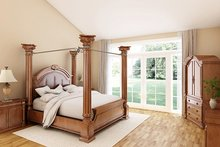 House Design - Ranch Interior - Master Bedroom Plan #18-9545