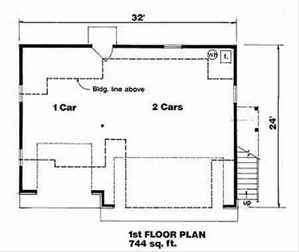 Traditional Floor Plan - Main Floor Plan Plan #116-131