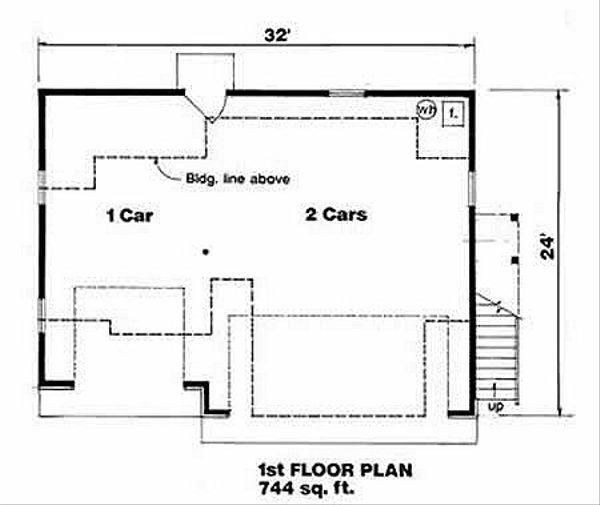 Traditional Floor Plan - Main Floor Plan #116-131