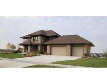 Prairie Exterior - Front Elevation Plan #51-1126