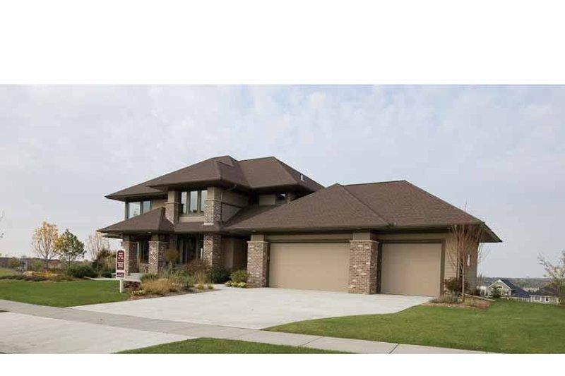 Prairie Exterior - Front Elevation Plan #51-1126 - Houseplans.com