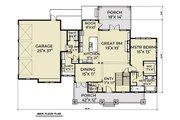 Farmhouse Style House Plan - 4 Beds 3.5 Baths 3290 Sq/Ft Plan #1070-36 Floor Plan - Main Floor