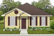 Dream House Plan - Cottage Exterior - Front Elevation Plan #84-539