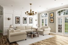 House Design - Craftsman Interior - Family Room Plan #45-586