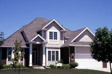 Home Plan Design - Traditional Exterior - Front Elevation Plan #20-2009