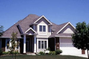 Traditional Exterior - Front Elevation Plan #20-2009
