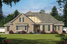 Architectural House Design - European Exterior - Front Elevation Plan #20-2451