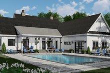 Architectural House Design - Farmhouse Exterior - Rear Elevation Plan #51-1149