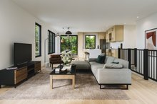 Dream House Plan - Craftsman Interior - Family Room Plan #23-2733