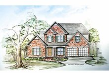 Traditional Exterior - Front Elevation Plan #54-299