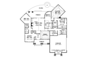 Traditional Style House Plan - 3 Beds 2 Baths 2142 Sq/Ft Plan #929-911 Floor Plan - Main Floor Plan