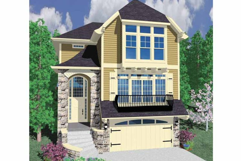 Country Exterior - Front Elevation Plan #509-330 - Houseplans.com