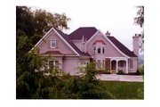 European Style House Plan - 4 Beds 3.5 Baths 2999 Sq/Ft Plan #429-22 Exterior - Other Elevation