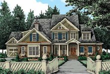 House Plan Design - Traditional Exterior - Front Elevation Plan #927-346
