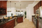 Country Style House Plan - 3 Beds 2.5 Baths 2287 Sq/Ft Plan #938-1 Interior - Kitchen
