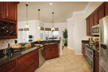 Dream House Plan - Country Interior - Kitchen Plan #938-1
