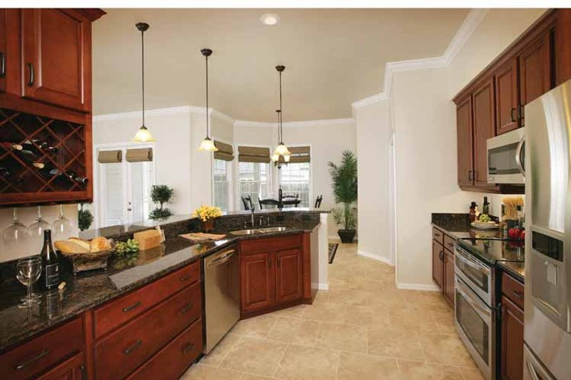 Country Interior - Kitchen Plan #938-1 - Houseplans.com
